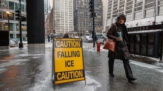 US-Wetterdienst warnt vor Rekord-Frost