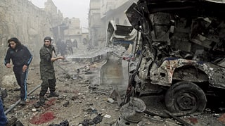 Bomben auf Rakka töten viele Zivilisten