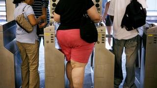 Fast ein Drittel aller Menschen ist übergewichtig