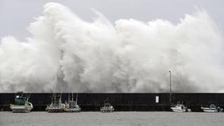 Japan wappnet sich für Taifun «Noru»