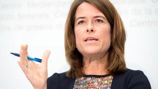 FDP-Chefin Petra Gössi in der Kritik
