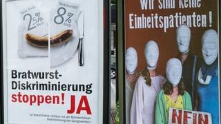 Kantone Aargau und Solothurn sagen zwei Mal «Nein»