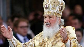 Der Moskauer Patriarch wird zum Fussballfan