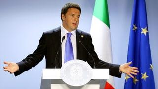 Italiens Premier Renzi will sein Land von Grund auf erneuern