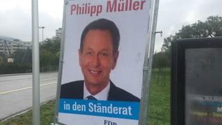 FDP Aargau steht voll und ganz hinter Philipp Müller
