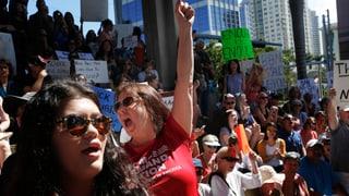 Schüler fordern strengere Waffengesetze