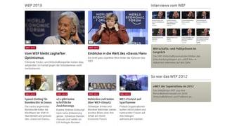 Rückblick: Das WEF 2013
