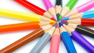 Viele Farbstifte können Kinder krank machen
