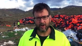 Der Schweizer Michael Räber hilft Flüchtlingen auf Lesbos