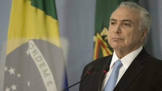Brasilia: Temer na sto betg sa giustifitgar pervi da corrupziun