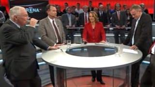 «Arena» zum US-Steuerdeal: Allianz SVP-SP hält – beinahe