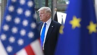 «Ein kleiner Erfolg für Trump» (Artikel enthält Audio)