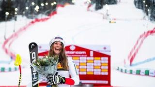 Corinne Suter sorgt für tollen Schweizer WM-Start