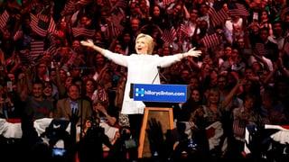 Clinton entscheidet auch die letzte Vorwahl für sich