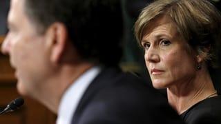 Justizministerin Sally Yates entlassen