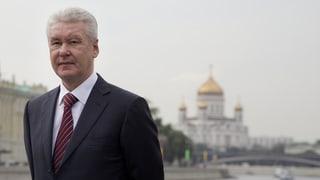 Sergej Sobjanin poliert die Stadt, statt ihre Probleme zu lösen