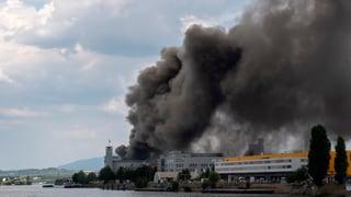 Nur geringe Wasserverschmutzung im Rhein