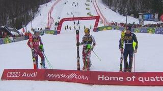 So sicherte sich Kristoffersen die kleine Kugel im Slalom-Weltcup