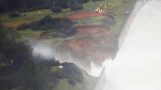 Leck in US-Staudamm