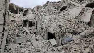 Aleppo im Bombenhagel, und dem Westen reisst der Geduldsfaden