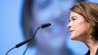 FDP-Präsidentin Gössi glaubt an Lösung mit der EU
