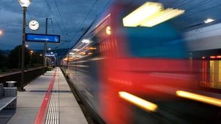 Zuger fahren mehr Zug und Bus