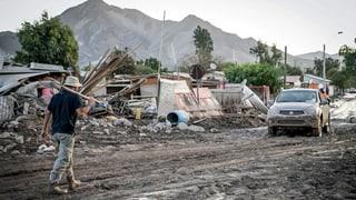 Unwetter verwüsten Chiles Norden