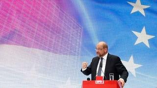 Schulz bläst zum Halali: Mit einem Zehn-Punkte-Plan will der Kanzlerkandidat aus dem anhaltenden Umfragetief heraus.