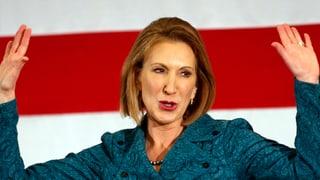 Ex-Chefin von Hewlett-Packard will ins Weisse Haus