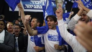 Wahlen in Israel: Netanjahus Likud stärker als erwartet