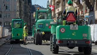 Gleis-Erneuerungen legen Tramverkehr 2017 teilweise lahm