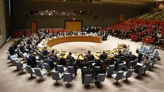 Erneut russisches Veto gegen Syrien-Resolution