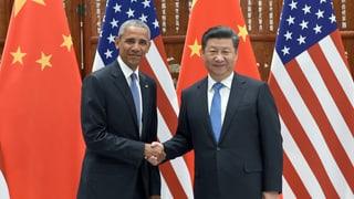 China und USA geben dem Klimaabkommen einen wichtigen Schub