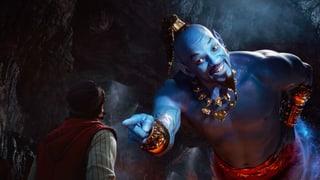 Überdrehte Unterhaltung: Will Smith spielt im bunten «Aladdin»-Remake den blauen Flaschengeist. Sonst bleibt vieles beim Alten.