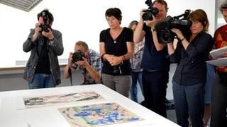 «Guter Zustand, leuchtende Farben»: Bern zeigt Gurlitt-Nachlass