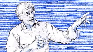 Peter von Matt: «Beim Hafenkran geht es um ein Ereignis»