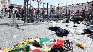 Während des Champions-League-Finals war es am Samstag in Turin zu einer folgenschweren Massenpanik gekommen.