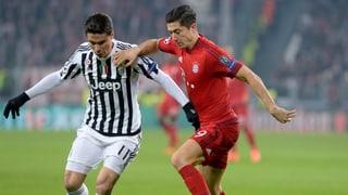 So kam es zum 2:2 im CL-Achtelfinal zwischen Juve und Bayern