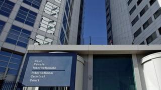Palästinenser treten Strafgerichtshof bei