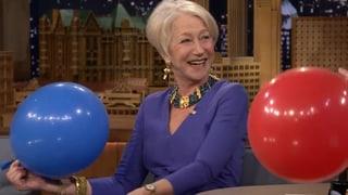 Helen auf Helium: Mirren macht die Mickey Maus