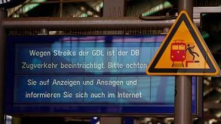 Deutsche Lokführer streiken ab Dienstag erneut