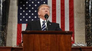 Trump gibt sich präsidial