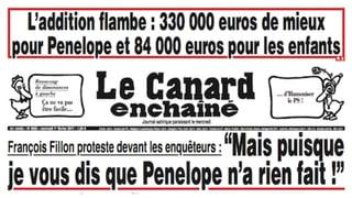 François Fillon wegen Nepotismus unter Druck