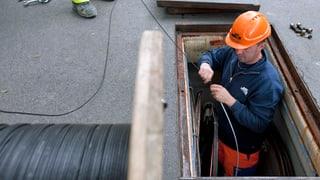 Glasfaser-Ausbau: Die Hälfte ist geschafft
