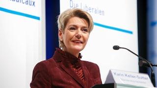 PLD Son Gagl nominescha Karin Keller-Sutter