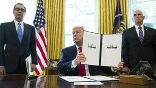 Trump droht Iran mit neuen Wirtschaftssanktionen