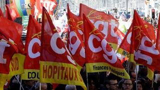Frankreichs Bähnler und Fluglotsen streiken