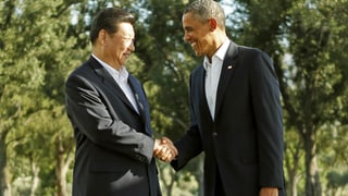 Xi und Obama: Harte Fakten, lockere Stimmung