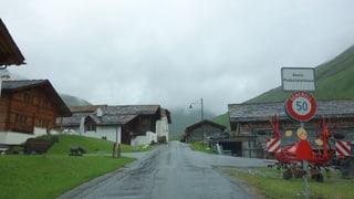 La Val Avras è serrada giù