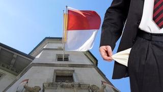 Leere Taschen im Kanton Solothurn: 135 Millionen Defizit